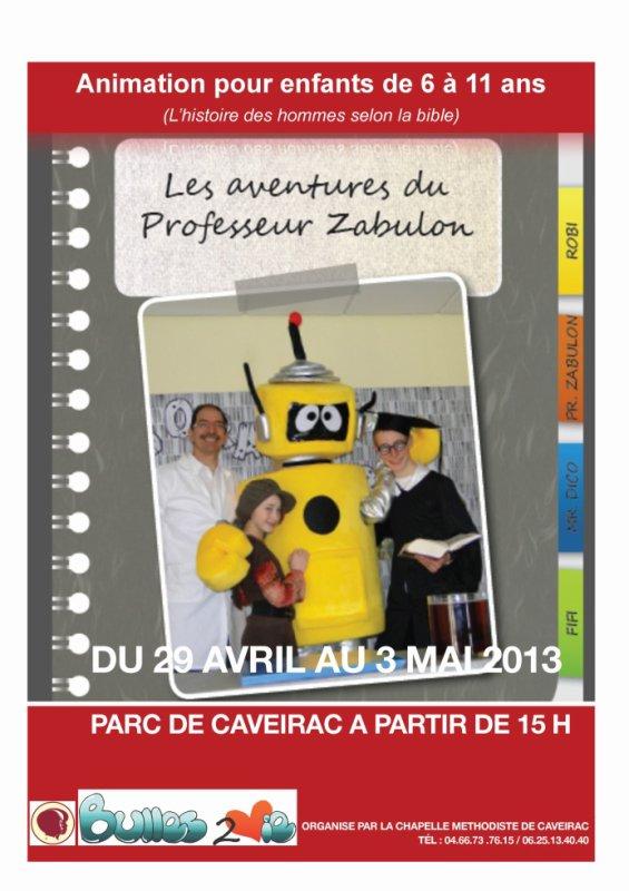 Les Aventures Extraordinaire du Professeur ZABULON