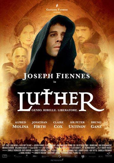 "Dimanche 27 octobre 14 h  Film ""Luther"""