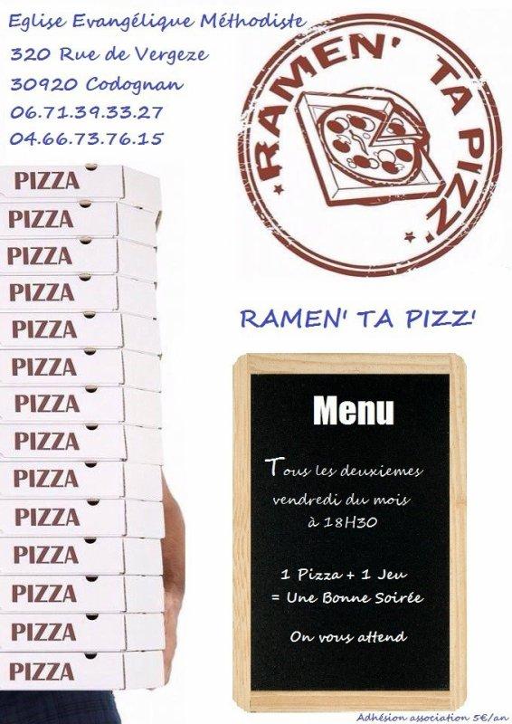 Soirée Ram'en Ta Pizz