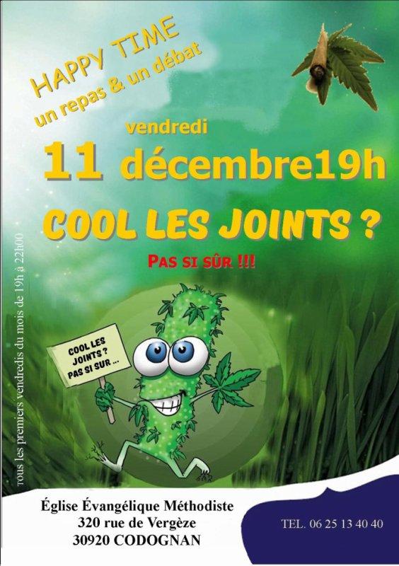 Cool les Joints ? Pas si sur !!!