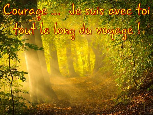 Mon Sauveur me dit : Courage … Ésaïe 41.10