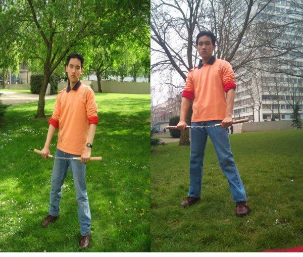 Moi en 2009 et  2013 :)