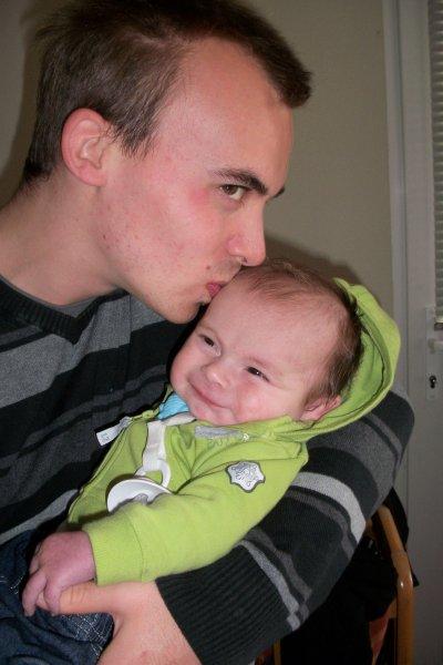 Nathan et son papa