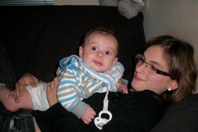 Nathan et sa maman