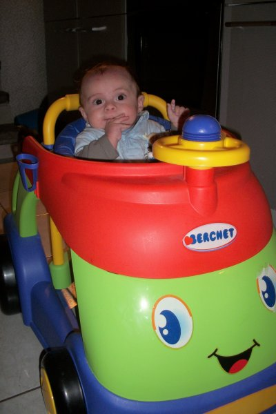 Nathan et sa voiture