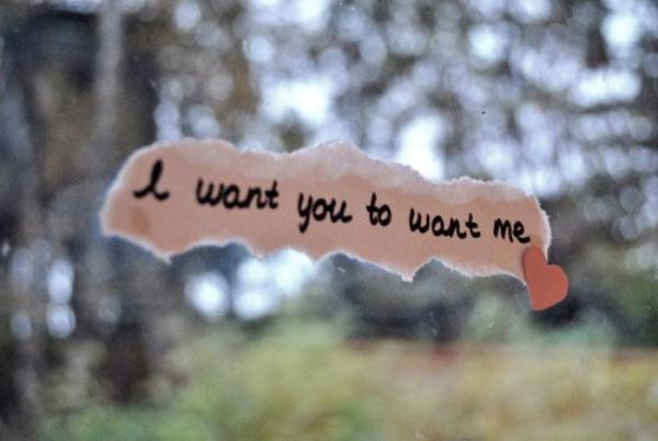 Je veux, je veux, j'en veux des choses.. Mais je veux Toi, toi qui m'attire ..  ♥