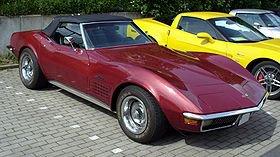 la Chevrolet Corvette