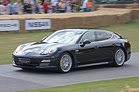 la Porsche Panamera