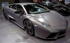 la Lamborghini Reventòn