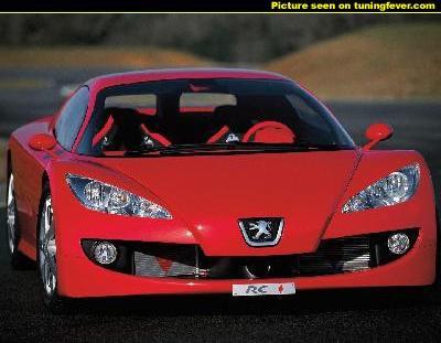 la Peugeot RC
