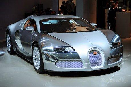 la Bugatti Veyron