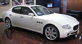 la Maserati Quattroporte
