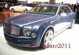 la Bentley Mulsanne