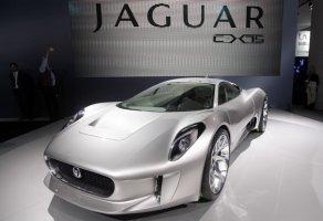 la Jaguar C-X75 Concept