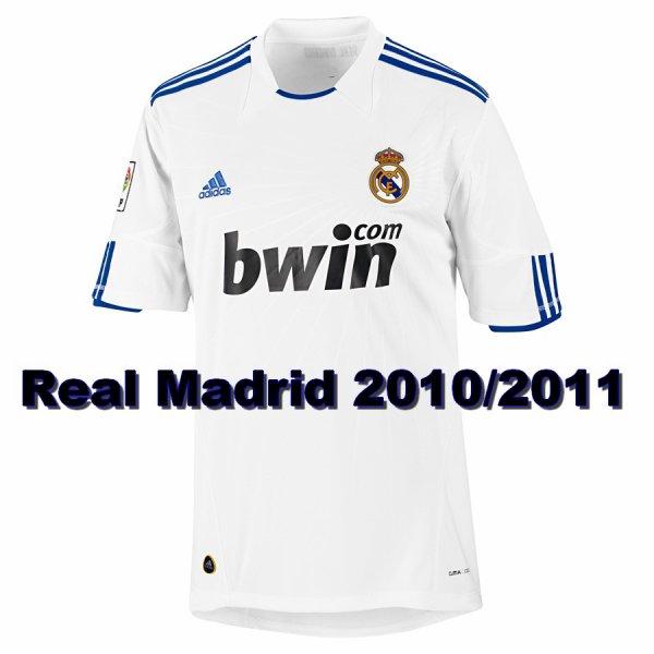 Maillot Du Real Madrid 2010/2011