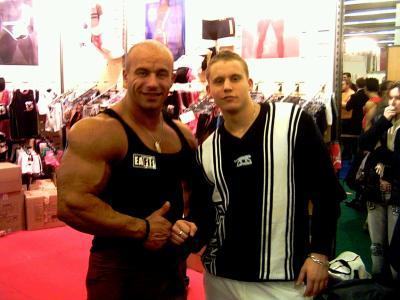 Arnaud plaisant et moi m me au salon mondial du body for Salon mondial du fitness