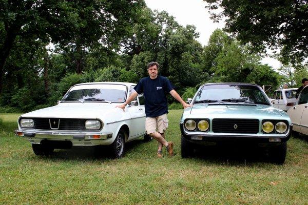 Mes deux voitures en exposition