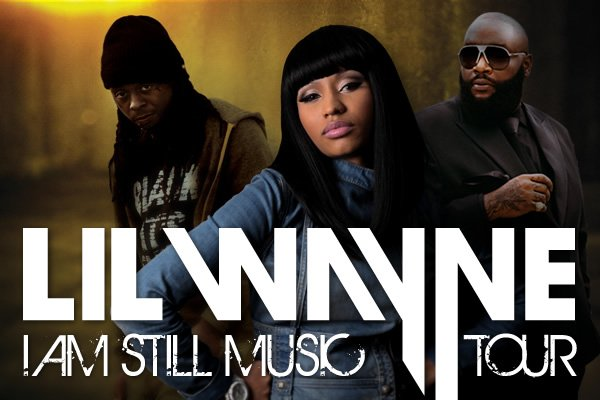 "lil wayne tour ""I Am Still Music"" at Susquehanna Bank Center, New Jersey"