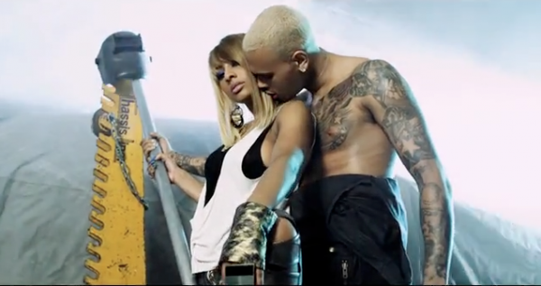 One night stand feat Chris Brown + making of