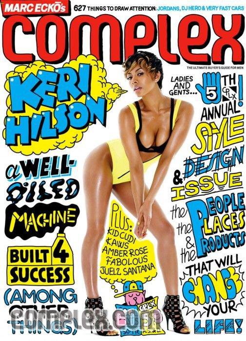 Keri Hilson Complex Magazine Photo Shoot