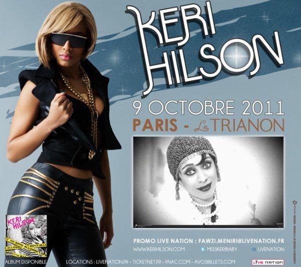 Keri Hilson - Live   paris  Le Trianon (2011-10-09)