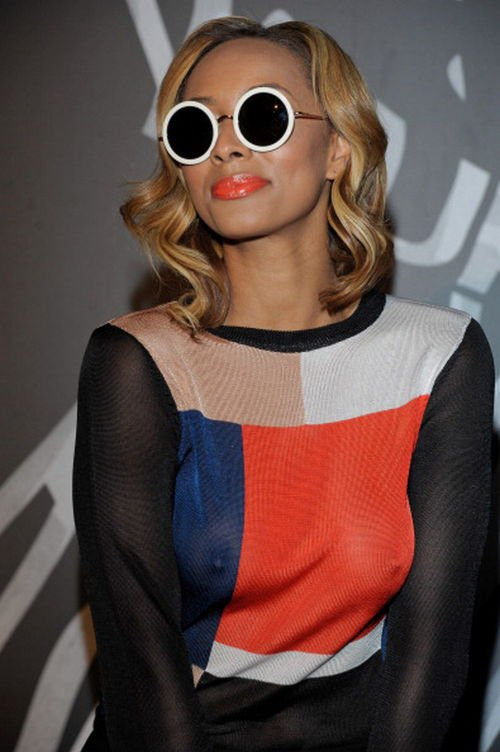 Keri Hilson at Easter Event