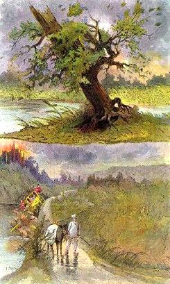 Fable de La Fontaine _ LE CHÊNE ET LE ROSEAU