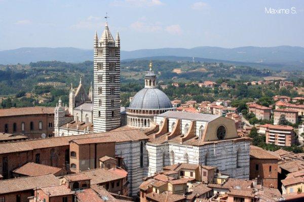 Sienne, Toscane.