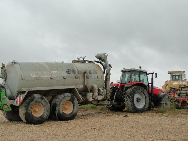 tracteur de la LGV a Villognion