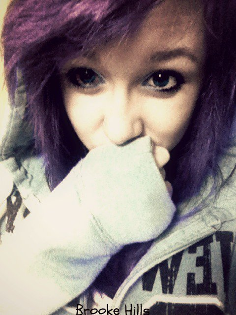 Miss my purple hair
