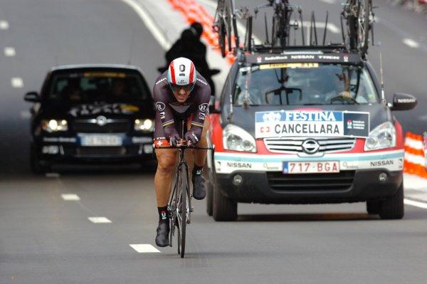 Tour de France 2012 : Prologue : Le Gaulois et le petit Suisse chez les belge