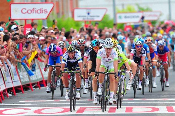 Tour d'Espagne 2012 / 2eme étape, Pamplelune-Viana, 181,4km, plaine   :