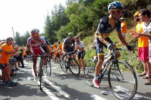 Tour d'Espagne 2012 / 3eme étape, Faustino V – Eibar (Arrate), 155,3 km, Vallon arivée en côte :