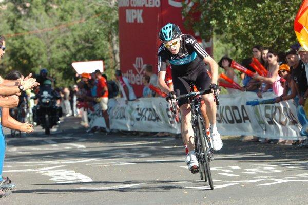 Tour d'Espagne 2012 / 6eme étape, Tarazona-Jaca, Vallon arrivé en côte :