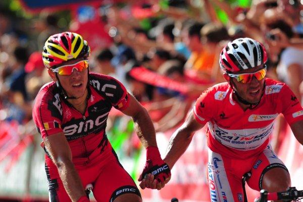 Tour d'Espagne 2012 / 9eme étape, Barcelone, plats arrivée en côte :