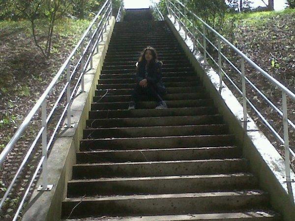 Moi et les escalier de merde ;)