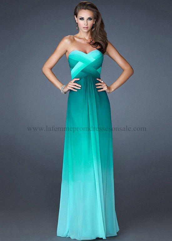 Cheap La Femme Prom Dresses - 2013 Collection - fashiondress