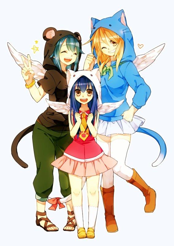 Neko Reby, Wendy et Lucy !