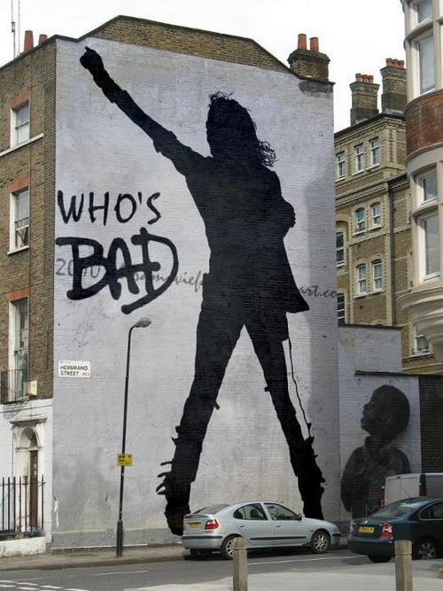 Michael Jackson Graf'