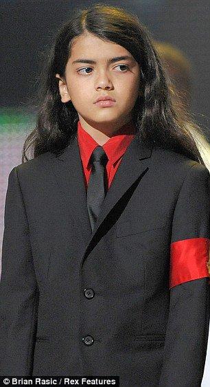 Prince Michael Jackson II : Happy Birthday (13yo)
