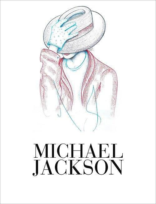 Le livre réunissant quelques dessins de MJ