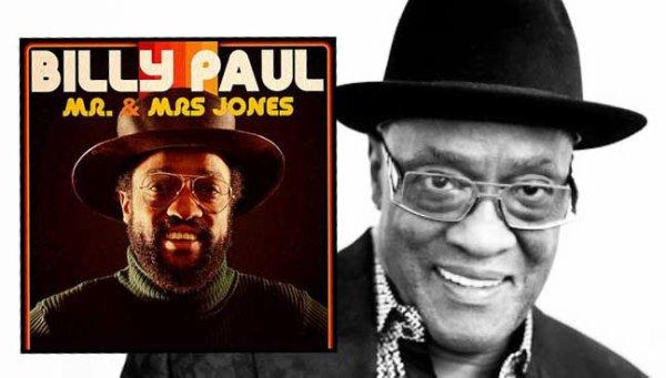 Billy Pau s'en est allé... il nous laisse beaucoup de chansons soul, avec entre autres le célèbre Me & Ms Jones