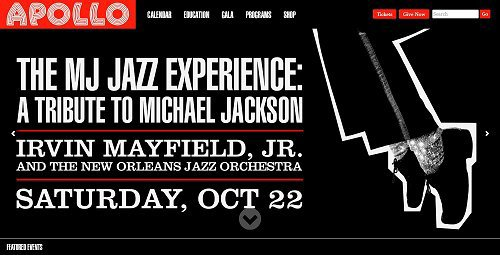 New York rendra hommage à Michael Jackson dans le célèbre Apollo Theatre