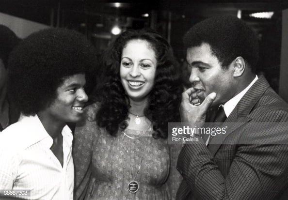 Michael Jackson & Mohamed Ali