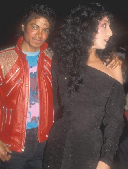 Michael Jackson et la chanteuse Cher