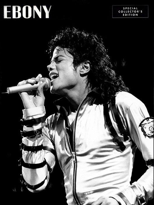 Ebony choisit Michael Jackson en couverture