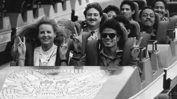 Michael Jackson à Hong Kong
