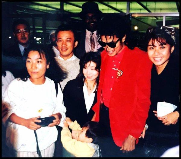Michael au Japon