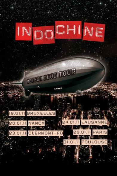 . . Indochine - Meteor Club Tour . .