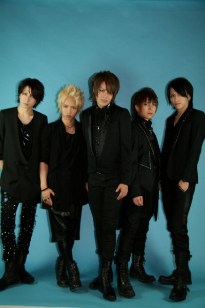 Images d'Alice Nine et de Miku.